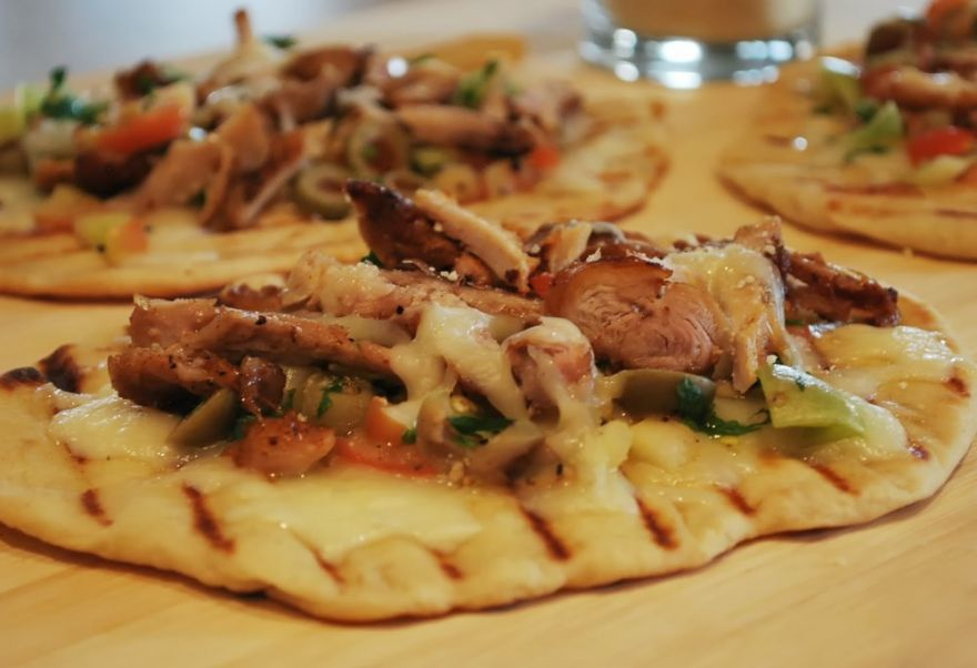 Get Cookin' – Cajun Chicken Flat Breads